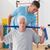 старший · человека · Личный · тренер · спортзал · подготовки - Сток-фото © wavebreak_media