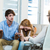psychologist helping a couple with relationship difficulties stock photo © wavebreak_media