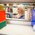 diák · digitális · tabletta · könyvtár · női · főiskolai · hallgató - stock fotó © wavebreak_media