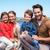 felice · genitori · bambini · campagna · famiglia · uomo - foto d'archivio © wavebreak_media