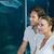 couple looking at fish in tank stock photo © wavebreak_media