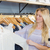 boldog · fiatal · nő · választ · ruházat · bevásárlóközpont · vásár - stock fotó © wavebreak_media