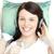 glücklich · hören · Musik · Kopfhörer · Telefon - stock foto © wavebreak_media