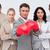 işadamı · boks · takım · boks · eldivenleri · toplantı - stok fotoğraf © wavebreak_media