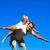 演奏 · 屋外 · 飛行機 · 笑みを浮かべて · 子供 - ストックフォト © wavebreak_media