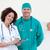 portré · vonzó · orvosok · megvizsgál · beteg · kórház - stock fotó © wavebreak_media