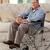 senior · homem · cadeira · de · rodas · casa · médico · saúde - foto stock © wavebreak_media