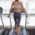 fit woman walking on the treadmill stock fotó © wavebreak_media