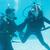 friends on scuba training submerged in swimming pool stock photo © wavebreak_media