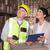 armazém · trabalhador · digital · comprimido · homem · óculos - foto stock © wavebreak_media
