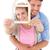 couple hugging and holding house outline stock photo © wavebreak_media