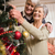 senior couple decorating their christmas tree stock photo © wavebreak_media