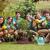 boldog · barátok · kertészkedés · közösség · napos · idő · férfi - stock fotó © wavebreak_media