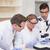 zagęszczony · naukowcy · laboratorium · medycznych · notebooka - zdjęcia stock © wavebreak_media