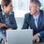 zakenlieden · met · behulp · van · laptop · computer · kantoor · laptop · technologie - stockfoto © wavebreak_media
