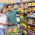 mujer · compra · alimentos · supermercado - foto stock © wavebreak_media
