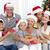 gülen · aile · Noel · zaman · gıda · adam - stok fotoğraf © wavebreak_media