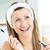 Radiant caucasian woman using mascara in the bathroom at home stock photo © wavebreak_media