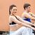 atletisch · jongeren · roeier · fitness · centrum · vrouw · glimlachen - stockfoto © wavebreak_media