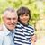 dziadek · dorosły · syn · wnuk · rodziny · uśmiech - zdjęcia stock © wavebreak_media