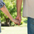 paar · holding · handen · tuin · vrouw · liefde · zomer - stockfoto © wavebreak_media