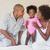 gelukkig · gezin · spelen · nieuw · huis · moeder · dochter - stockfoto © wavebreak_media