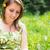 woman text messaging in field stock photo © wavebreak_media