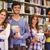 szczęśliwy · studentów · książek · rząd · biblioteki - zdjęcia stock © wavebreak_media