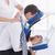ビジネスマン · 戻る · マッサージ · ラップトップを使用して · 医療 · オフィス - ストックフォト © wavebreak_media