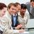 jonge · zakenman · werken · team · laptop · business - stockfoto © wavebreak_media