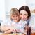 cute · meisje · moeder · vrouw · meisje · keuken - stockfoto © wavebreak_media
