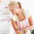 ritratto · donna · bionda · cuoco · cucina · sorriso - foto d'archivio © wavebreak_media