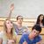 öğrenci · el · sınıf · arkadaşları · mutlu · kalem - stok fotoğraf © wavebreak_media
