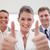 personeel · werving · team · goedkeuring · aanvrager · vergadering - stockfoto © wavebreak_media