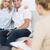 пару · заседание · финансовых · советник · домой - Сток-фото © wavebreak_media