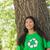 portret · vrolijk · vrijwilligers · recycling · symbool · vrouw - stockfoto © wavebreak_media