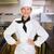 asian · chef · glimlachend · camera · restaurant · keuken - stockfoto © wavebreak_media