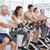 trener · pracujących · na · zewnątrz · klasy · spaceru · siłowni - zdjęcia stock © wavebreak_media
