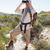 wandelaar · naar · verrekijker · genieten · spectaculaire - stockfoto © wavebreak_media