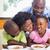 happy family having breakfast together in the morning stock photo © wavebreak_media