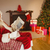 santa claus reading newspaper on the couch stock photo © wavebreak_media