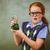 girl holding conical flask in classroom stock photo © wavebreak_media