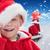 vidám · fiú · karácsony · portré · boldog · gyerek · díszített - stock fotó © wavebreak_media