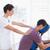 穏やかな · 女性 · 操作 · 医療 · ルーム · 男 - ストックフォト © wavebreak_media