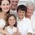 felice · giovani · famiglia · cottura · insieme · sorriso - foto d'archivio © wavebreak_media