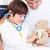 отец · больным · сын · играет · стетоскоп - Сток-фото © wavebreak_media
