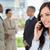 exécutif · femme · parler · téléphone · façon - photo stock © wavebreak_media