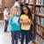 öğretmen · gülen · kamera · kütüphane - stok fotoğraf © wavebreak_media