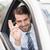 счастливым · бизнесмен · сиденье · автомобилей · бизнеса · окна - Сток-фото © wavebreak_media