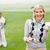 feminino · jogador · de · golfe · campo · de · golfe · verde · mulher · golfe - foto stock © wavebreak_media